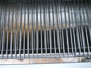cleaned grates