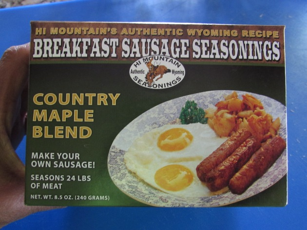 Hi Mountain Maple seasoning