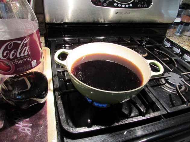 cherry cola reducing