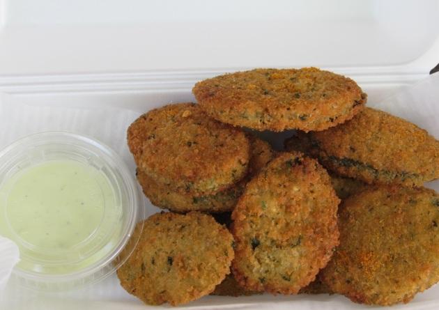 Fried Zucchini Ovals